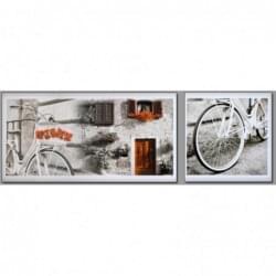Dvoudílný dekorační obraz - Kolo