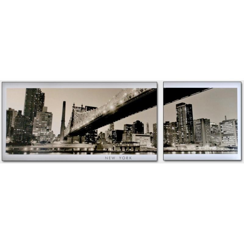 Dvoudílný dekorační obraz - New York - 2D_00003