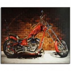Dekorační obraz - Motorka