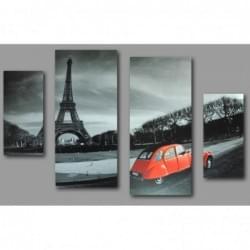 Čtyřdílný dekorační obraz  - 4D_10070_00010