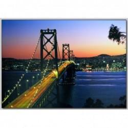 Dekorační obraz - Noční město - 5070_0013