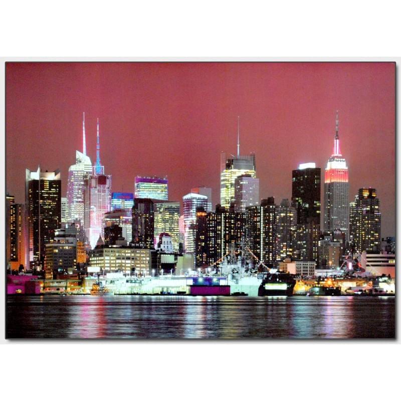 Dekorační obraz - Noční město - 5070_0022