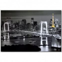 Dekorační obraz - Noční město - 10070_0002